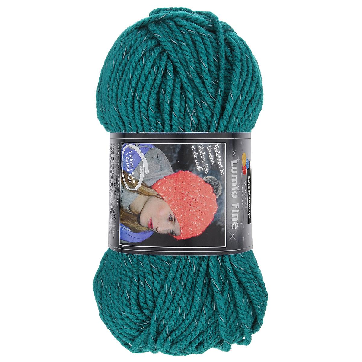 Бирюзовые нитки для вязания 95