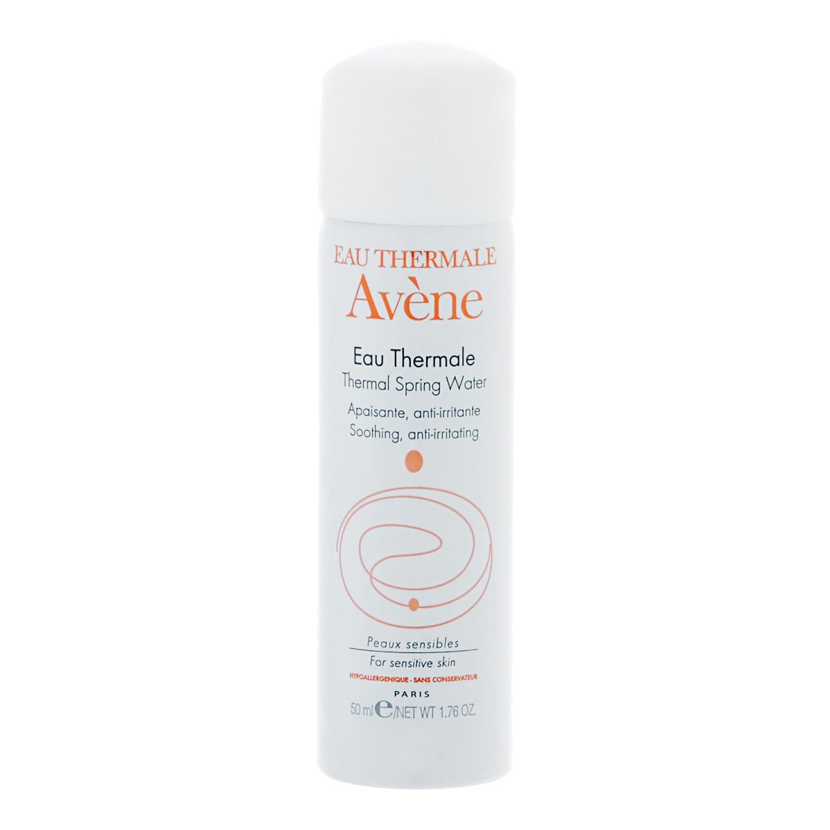Avene Термальная вода Eau Thermale 50 млC03557Увлажняет кожу, нейтрализует свободные радикалы, успокаивает раздражение кожи, оказывает ранозаживляющее и противовоспалительное действие. Для ухода за кожей при дерматологических заболеваниях и после косметических процедур. Протестировано на чувствительной коже.