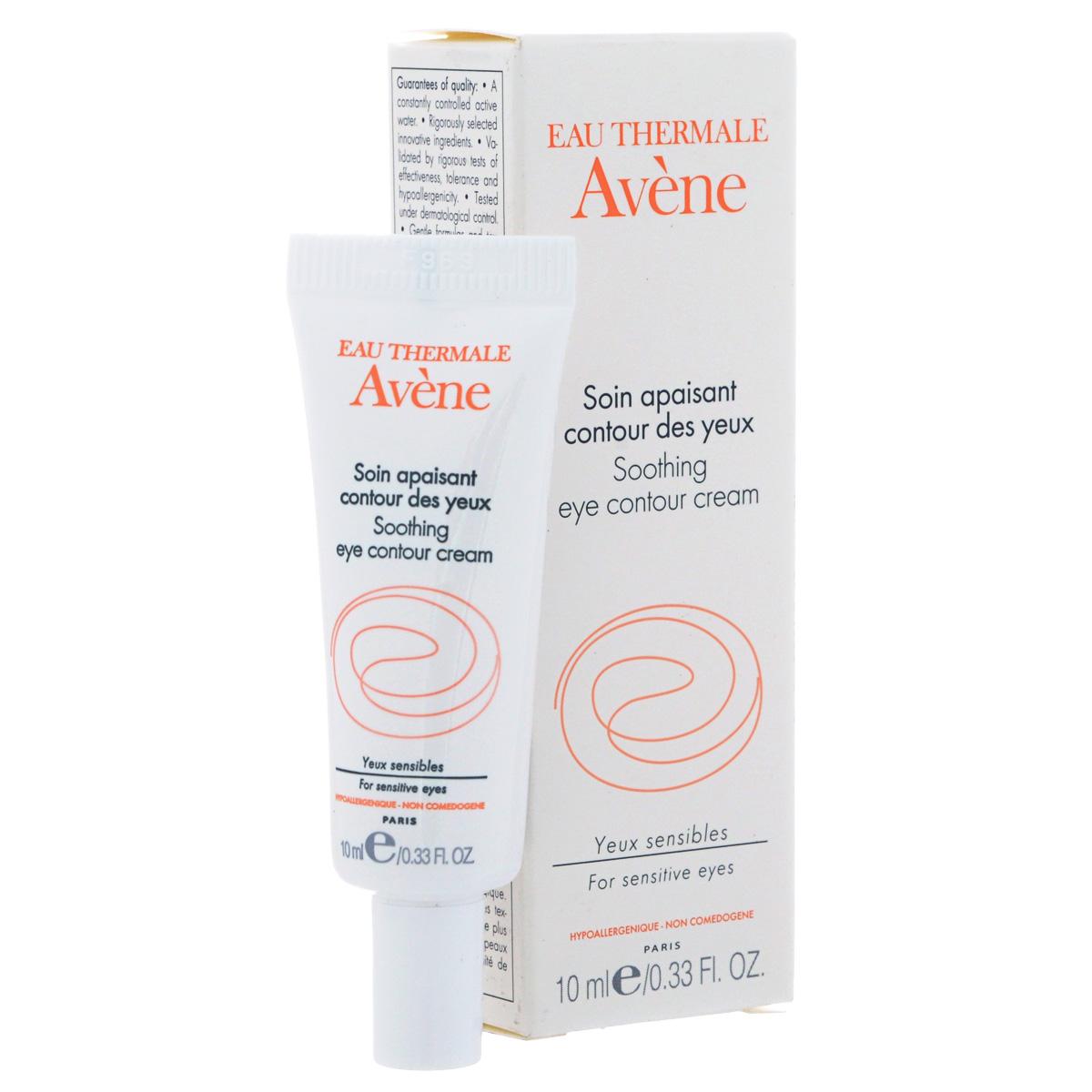 Avene Успокаивающий крем Soins des yeux для контура глаз 10 млC05136Успокаивает и устраняет раздражение, снимает отечность, увлажняет и защищает нежную кожу контура глаз. Обеспечивает комплексный уход за контуром глаз.