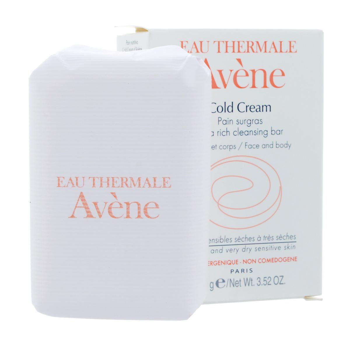 """Avene Сверхпитательное мыло """"Cold-cream"""" для лица и тела 100 г"""