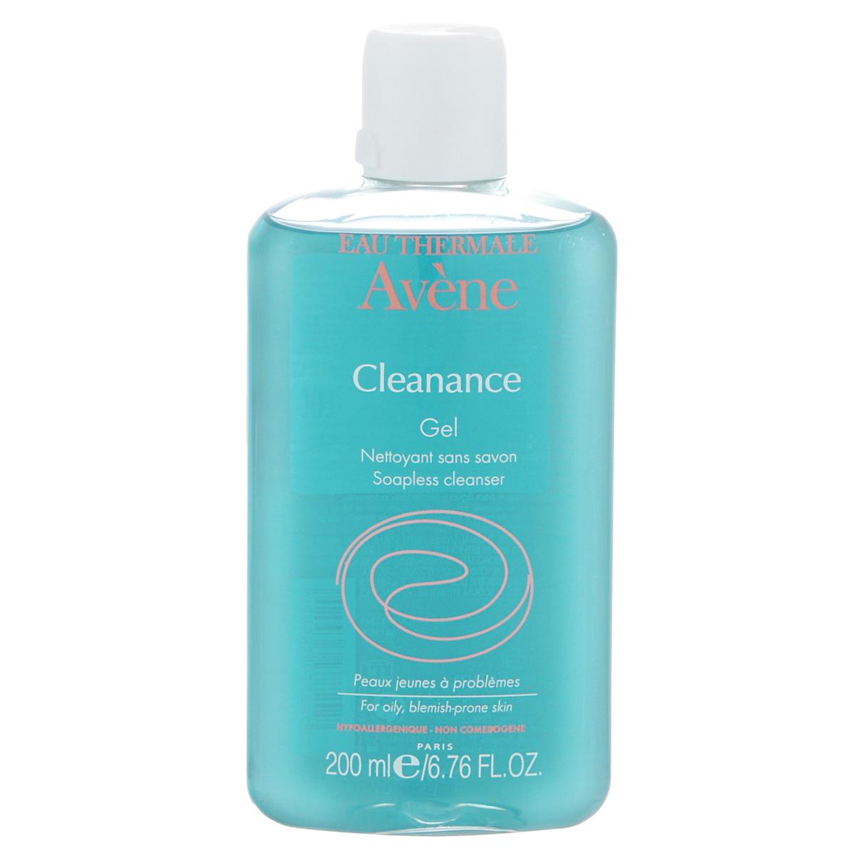 Avene Очищающий гель Сleanance для лица и тела 200 млC36552Бережно очищает кожу с акне, не нарушая гидролипидную мантию, регулирует работу сальных желез