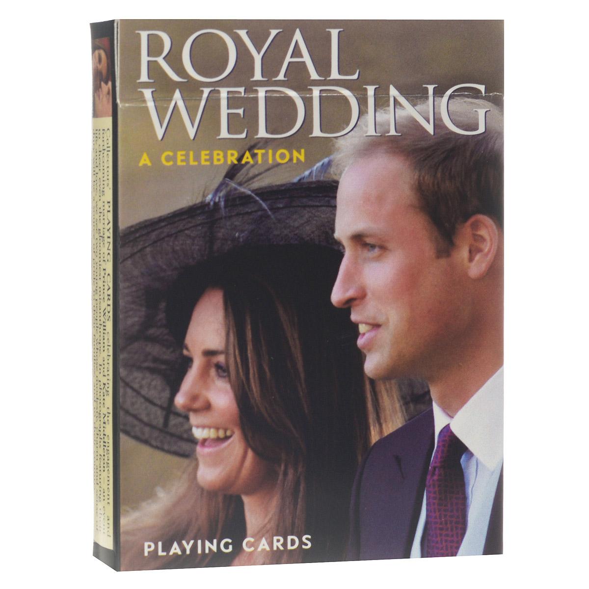 Карты игральные коллекционные Piatnik Свадьба принца Уильяма и Кейт Миддлтон, цвет: белый, 55 карт. 11801180