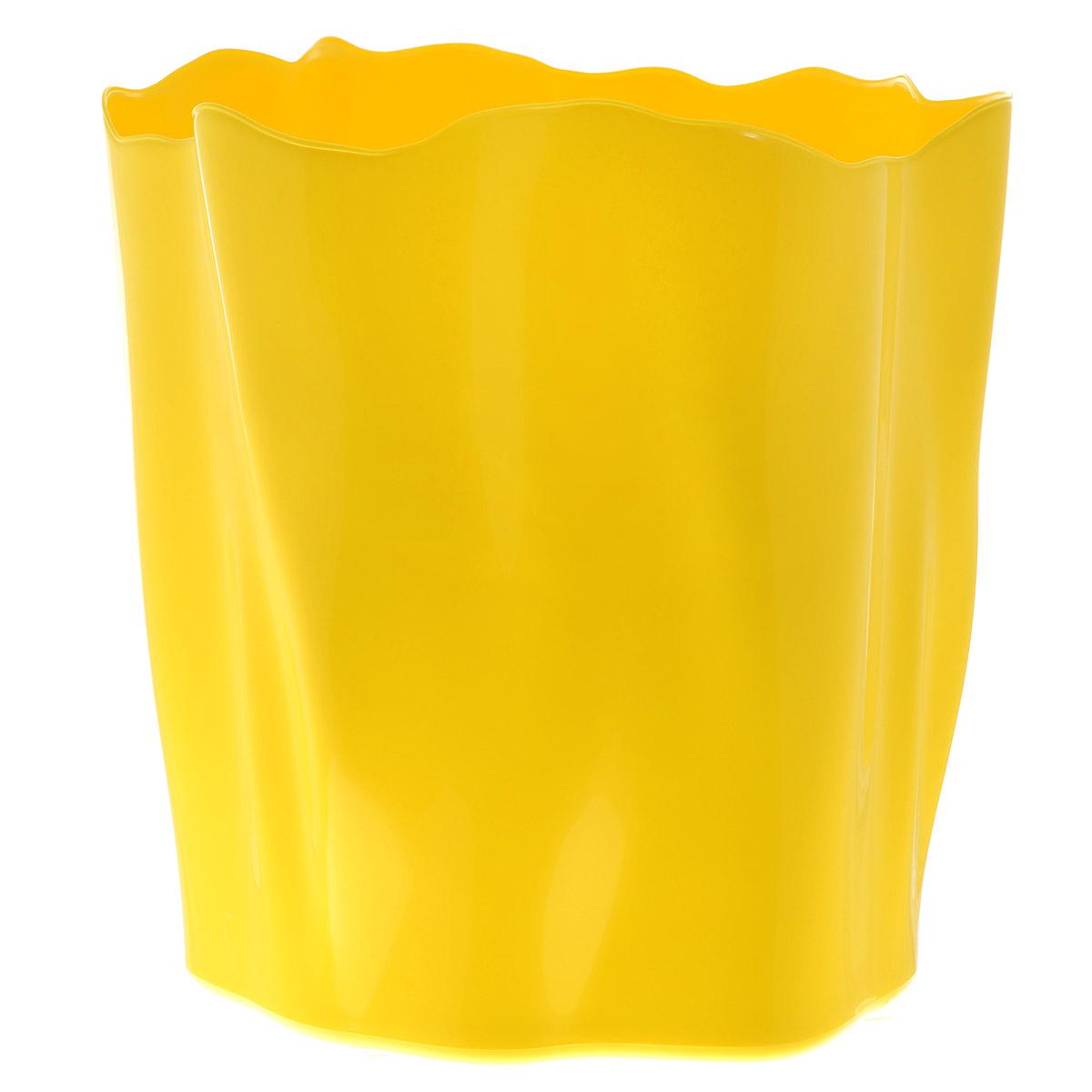 Органайзер Qualy Flow, большой, цвет: желтый, диаметр 27 смQL10141-YWОрганайзер Qualy Flow может пригодиться на кухне, в ванной, в гостиной, на даче, на природе, в городе, в деревне. В него можно складывать фрукты, овощи, хлеб, кухонные приборы и аксессуары, всевозможные баночки, можно использовать органайзер как мусорную корзину, вазу. Все зависит от вашей фантазии и от хозяйственных потребностей! Пластиковый оригинальный органайзер пригодится везде! Диаметр: 27 см. Высота стенки: 28 см.