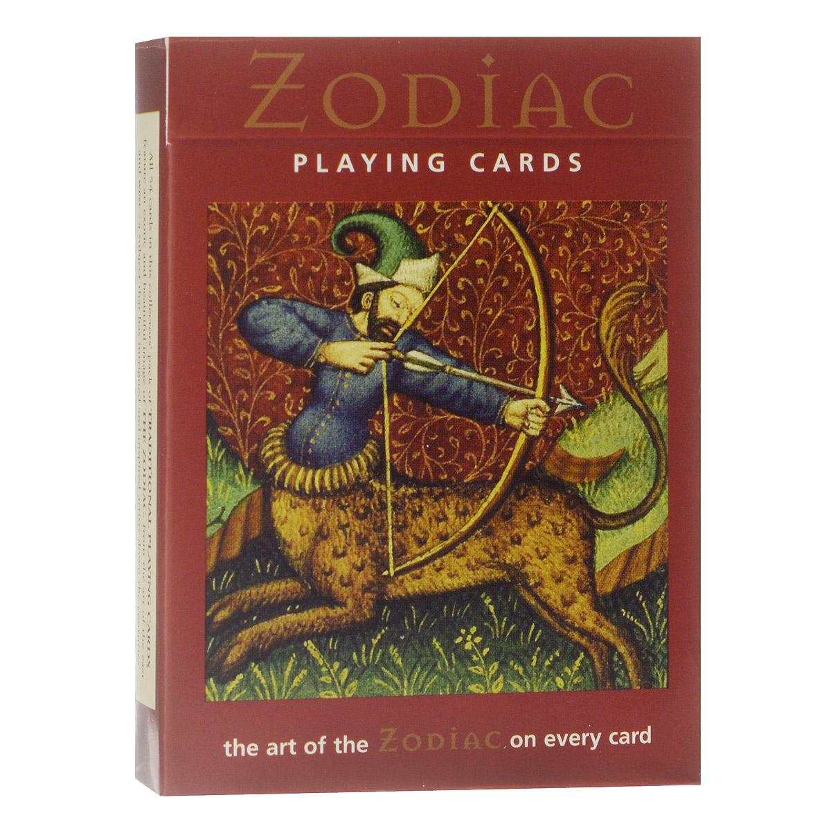 Карты игральные коллекционные Piatnik Зодиак, цвет: белый, 55 карт. 11821182