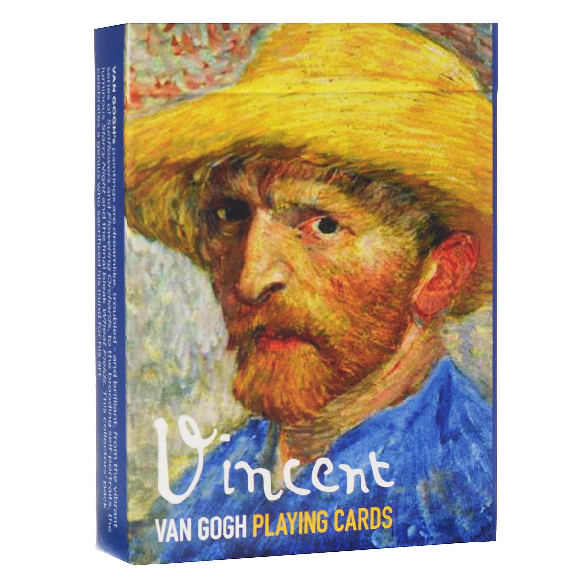 Карты игральные коллекционные Piatnik Винсент Ван Гог, цвет: белый, 55 карт. 16491649