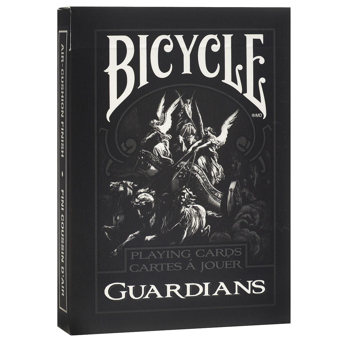 Карты игральные коллекционные Bicycle Guardians, цвет: черный, 54 карты. 91119111