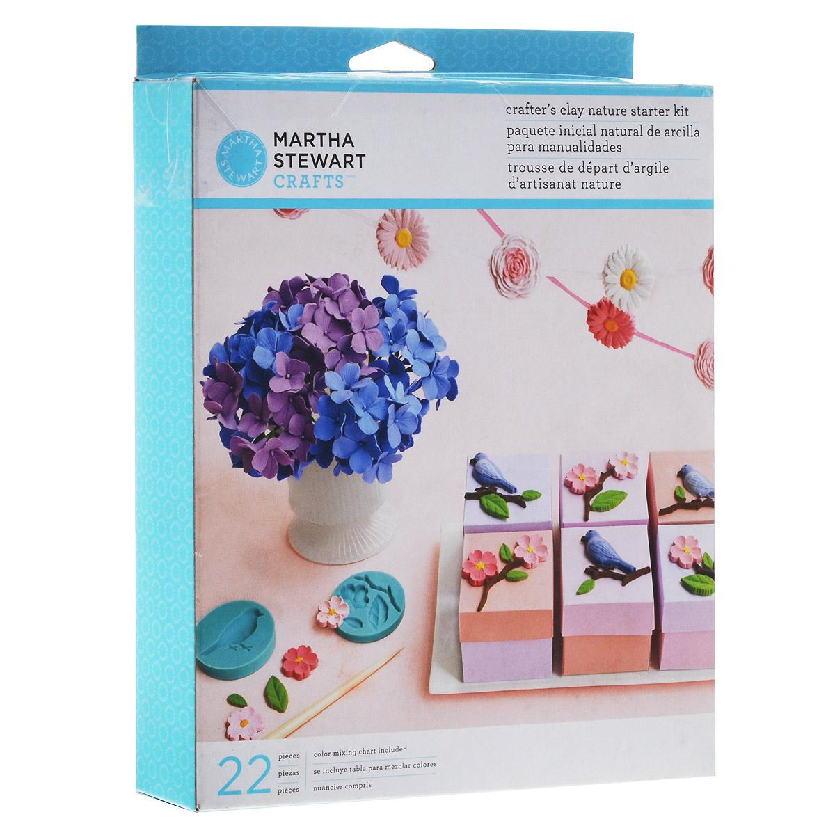 Набор полимерной глины для начинающих EKSuccess Tools ЦветыEKS-43-00001Набор для начинающих EKSuccess Tools Цветы содержит все, что нужно для создания декоративных украшений из полимерной глины. Глина не требует запекания, сохнет 24 часа, не токсична. После сушки изделие можно красить, либо покрыть герметиком, лаком, закрепителем. Набор EKSuccess Tools Цветы содержит: - глина 5 цветов (желтый, красный, синий, коричневый, белый), - пластиковые стеки: 2 шт, - силиконовые формы: 4 шт (с изображением 2 цветков, листьев, птицы), - цветочная лента, - цветочная проволока, - инструкция по лепке гортензии из полимерной глины (на русском языке). Вес глины в наборе: 125 г.