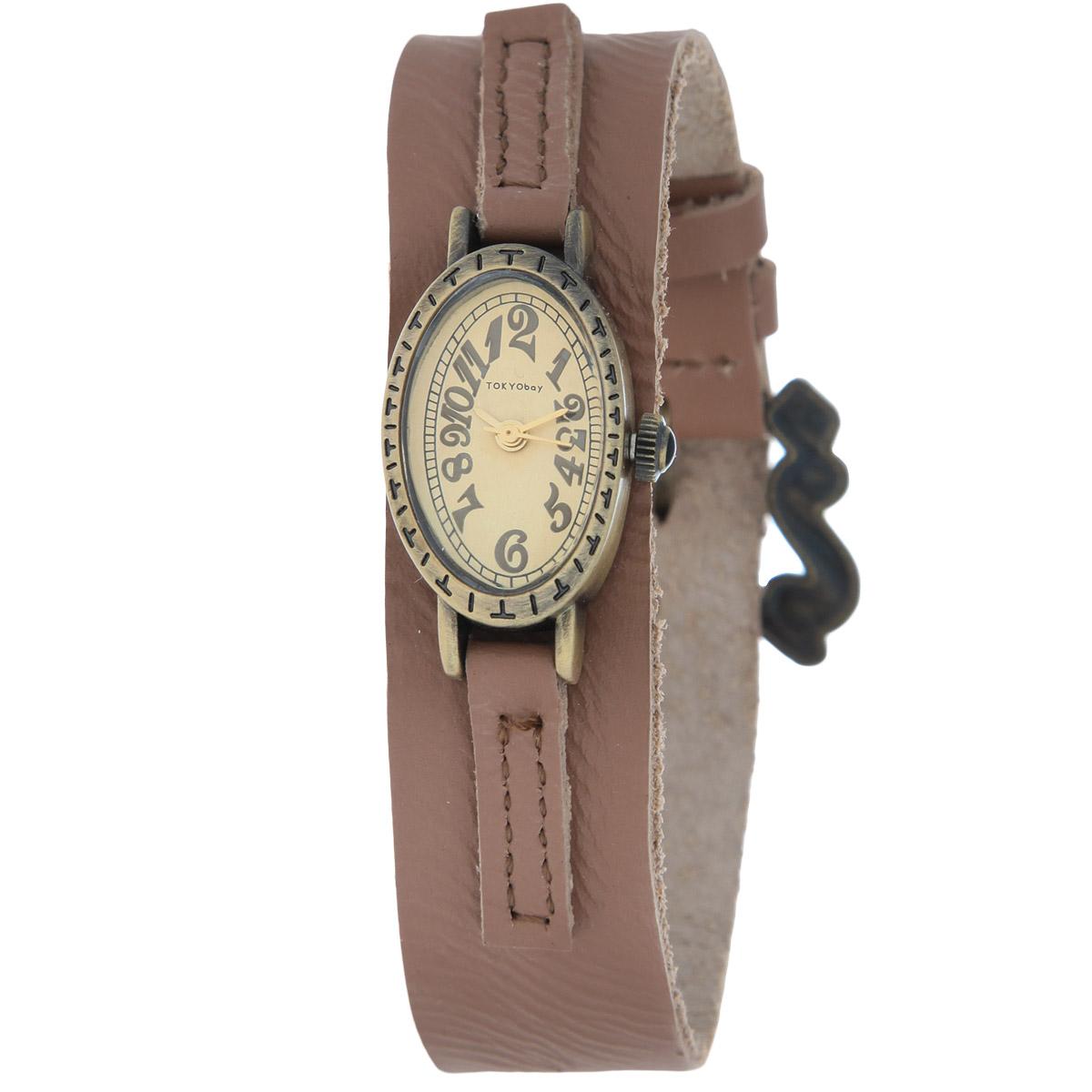 Часы женские наручные Tokyobay Tempo, цвет: коричневый. T881-BRT881-BRНаручные часы Tokyobay - это стильное дополнение к вашему неповторимому образу. Эти часы созданы для современных женщин, ценящих стиль, качество и практичность. Часы оснащены японским кварцевым механизмом Miyota. Задняя крышка изготовлена из нержавеющей стали. Корпус изготовлен из металла, украшен тиснением. Циферблат оформлен декоративными цифрами, имеются часовая, минутная и секундная стрелки. Ремешок выполнен из кожи и застегивается на классическую застежку-пряжку. Часы Tokyobay - это практичный и модный аксессуар, который подчеркнет ваш безупречный вкус. Характеристики: Корпус: 2,5 х 1,6 х 0,7 см. Размер ремешка: 19 х 1,8 см. Не содержит никель. Не водостойкие.