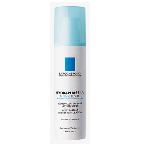 La Roche-Posay Увлажняющий флюид для лица Hydraphase UV Интенс Лежер 50 млM2937100Мгновенное увлажнение плюс длительное интенсивное увлажнение* * Клинический тест выполнен с участием 24 женщин от 18 до 60 лет. Оценка с помощью корнеометра. Формула содержит Фрагментированную Гиалуроновую Кислоту, которая оказывает двойное действие: - Интенсивное увлажнение и насыщение кожи влагой. - Усиление клеточного сцепления для длительного удержания влаги в коже. Система солнечных фильтров защищает кожу от ежедневного повреждающего воздействия UVA и UVB-лучей. Клеточные соединения сохранены и защищены. Обеспечено длительное увлажнение кожи.