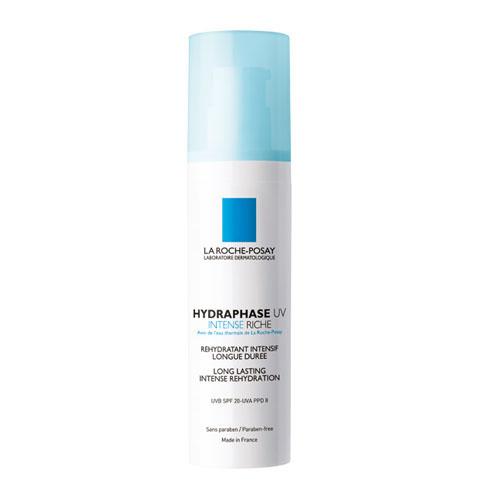 La Roche-Posay Увлажняющий флюид для лица Hydraphase UV Интенс Риш 50 млM2937800Мгновенное увлажнение плюс длительное интенсивное увлажнение* * Клинический тест выполнен с участием 24 женщин от 18 до 60 лет. Оценка с помощью корнеометра. Формула содержит Фрагментированную Гиалуроновую Кислоту, которая оказывает двойное действие: - Интенсивное увлажнение и насыщение кожи влагой. - Усиление клеточного сцепления для длительного удержания влаги в коже. Система солнечных фильтров защищает кожу от ежедневного повреждающего воздействия UVA и UVB-лучей. Клеточные соединения сохранены и защищены. Обеспечено длительное увлажнение кожи.