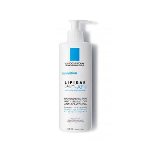 La Roche-Posay Липидовосстанавливающий бальзам для лица и тела Lipikar АП+ 400 млM9129000Липидовосстанавливающий бальзам разработан для кожи, склонной к атопии или аллергческим реакциям. Увеличивает время между обострениями симптомов атопии. Эффективно уменьшает сухость, зуд и раздражение, моментально успокаивает и смягчает кожу. После использования кожа мягкая и нежная. Для младенцев, детей и взрослых. Содержит Aqua Posae Filiformis, эксклюзивный запатентованный активный компонент - восстанавливает и нормализует баланс микробиома кожи [+] - восстанавливает и укрепляет кожный барьер Специально разработанная формула содержит активные компоненты, отобранные благодаря их эффективности и безопасности.