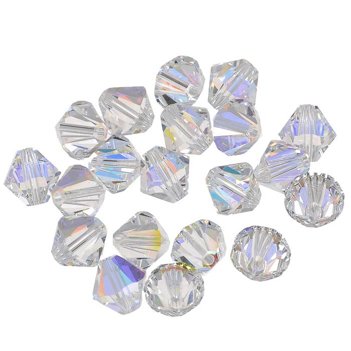 Бусины Swarovski Elements, цвет: прозрачный, 8 мм, 20 шт. 389025