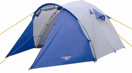 Палатка Campack Tent Storm Explorer 437650Campack Tent Storm Explorer 4 - универсальная палатка для несложных походов и семейного отдыха на природе. Конструкция позволяет использовать ее как ранней весной, так и во время осенних выездов, когда погода меняется каждую минуту. Модель Storm имеет два раздельных входа. Основной вход надежно защищен боковыми тентовыми крыльями, которые предотвращают задувание холодного воздуха при сильных порывах ветра. Высокопрочное дно изготовлено из армированного полиэтилена, не пропускает влагу и устойчиво к истиранию. Каркас, изготовленный из фибергласса, обеспечивает надежность и устойчивость. Палатка оснащена увеличенными вентиляционными окнами, клапаном от косого дождя и двухслойным входом с цветными молниями. Внешнее крепление третьей дуги значительно облегчает установку палатки. Внутри палатки имеется подвеска для фонаря и карманы для хранения мелочей. Проклеенные швы гарантируют герметичность и надежность в любой ситуации. Материал...