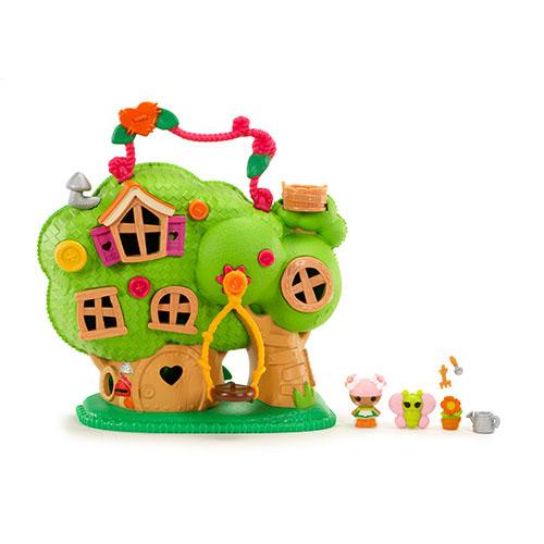Lalaloopsy Игровой набор с мини-куклами Домик на дереве