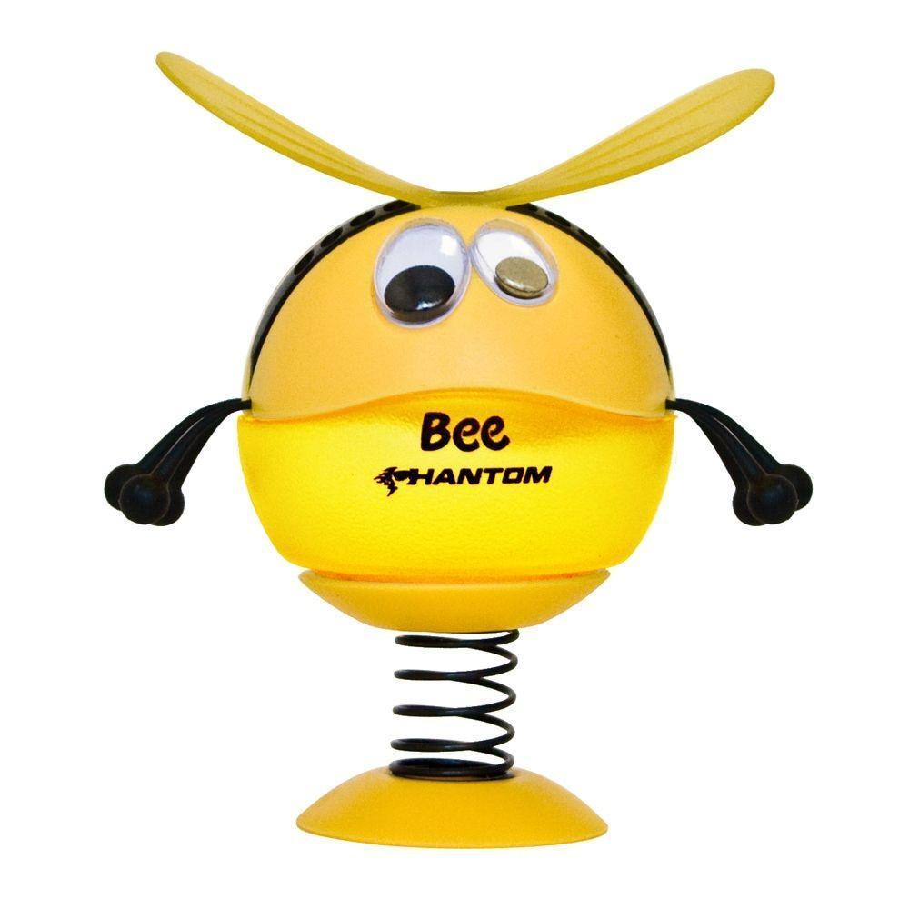 Ароматизатор Phantom Bee, лимон3579• Подвижная конструкция • Ароматическая основа - гель • Французская парфюмерия. Срок действия - 50 дней. • Усовершенствованная конструкция - надежное крепление всех деталей к корпусу Пластико, ароматическая отдушка