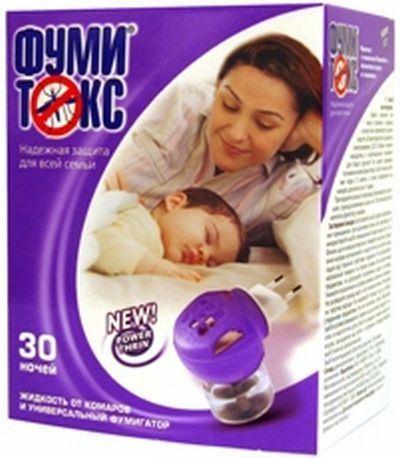 Жидкость для фумигатора ФУМИТОКС, 30 ночей643807Эффективная формула. Надежная защита на 30 ночей (по 8 часов). Жидкость не имеет запаха. Безопасно к использованию, не нужно прикасаться руками к средству.