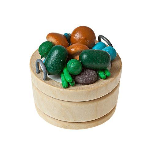 Фрукты в круглом деревянном лотке (иск.мат.). AM0101033AM0101033Фрукты в круглом деревянном лотке (иск.мат.)