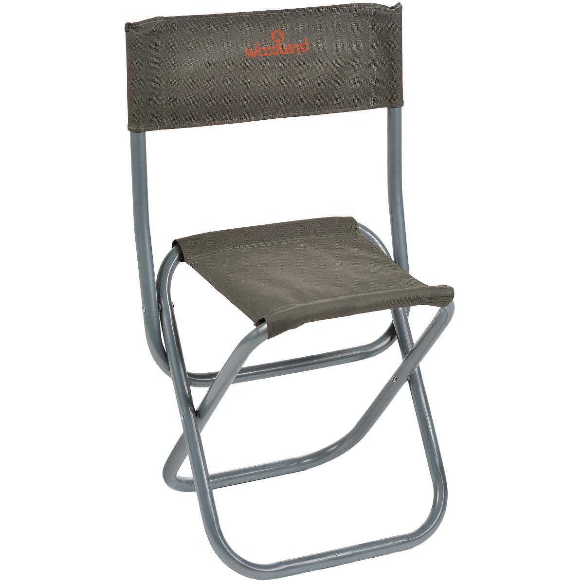 Кресло складное Woodland Tourist, 30 см х 44 см х 70 см0042105Складное кресло Woodland Tourist предназначено для создания комфортных условий в туристических походах, охоте, рыбалке и кемпинге. Особенности: Компактная и усиленная стальная конструкция. Прочный стальной каркас диаметром 22 мм. Водоотталкивающее ПВХ покрытие ткани Oxford 600.
