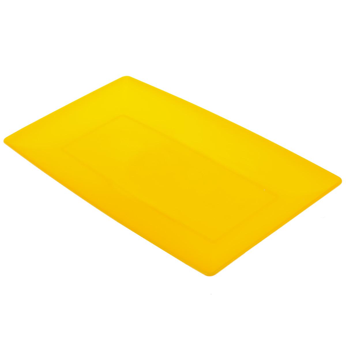 Тарелка глубокая Ucsan, цвет: оранжевый, 33 см х 18 смM-637Прямоугольная, глубокая тарелка Ucsan изготовлена из полипропилена и идеально подходит для сервировки стола. Тарелка Ucsan не только украсит ваш кухонный стол и подчеркнет прекрасный вкус хозяйки, но и станет отличным подарком. Размер тарелки: 33 см х 18 см х 1 см. УВАЖАЕМЫЕ КЛИЕНТЫ! Товар поставляется в цветовом ассортименте. Поставка осуществляется в зависимости от наличия на складе.