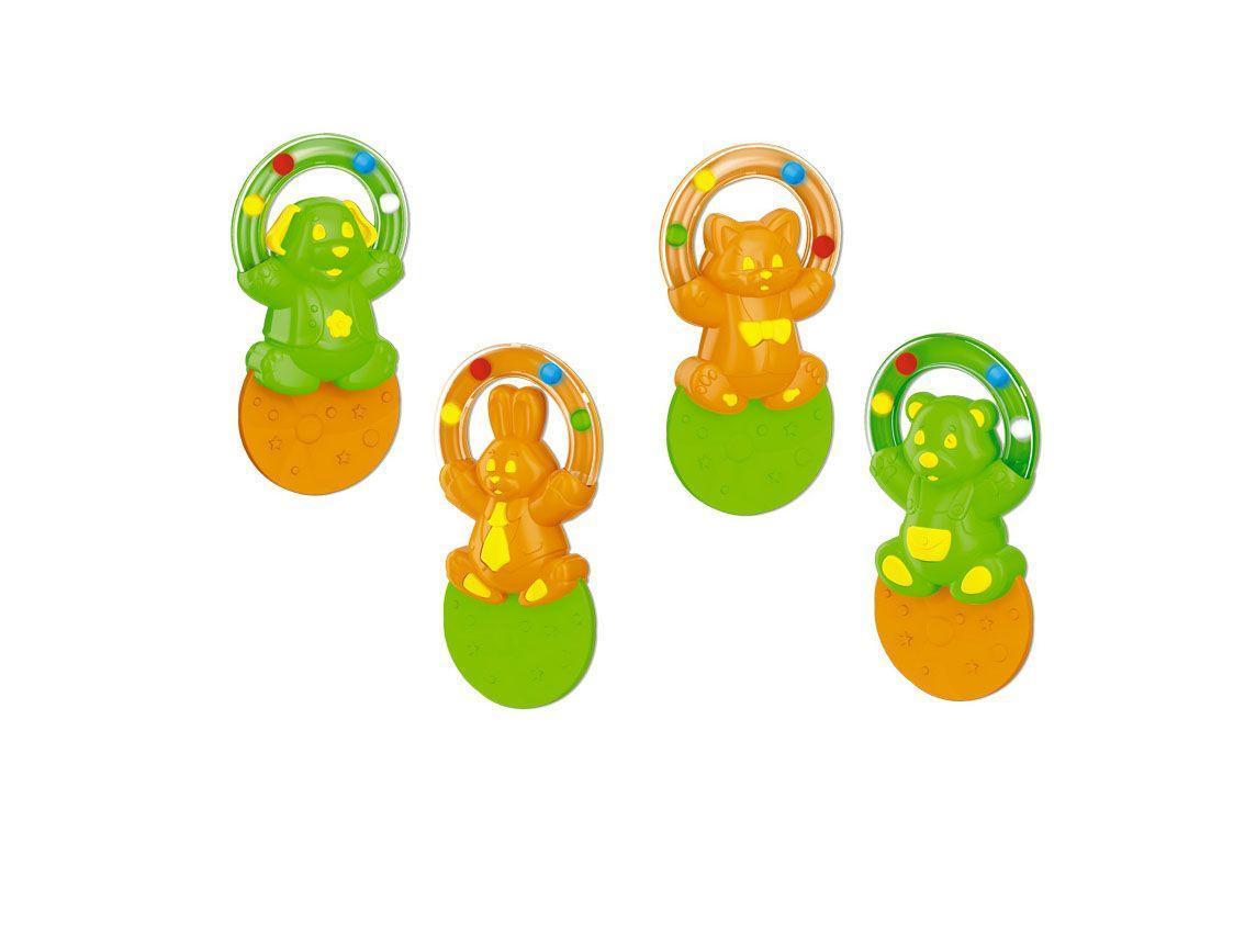 Прорезыватель Жонглер4607038278829Прорезыватель для зубов Stellar сделан специально для использования в период, когда у детей режутся зубки. Его можно кусать и жевать, различные комбинации текстур стимулируют десны Прорезыватель также можно мыть в посудомоечной машине, допускается размещение в морозильной камере