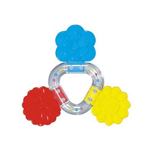 Прорезыватель Букетик4607038277389Погремушка - прорезыватель Букетик сделана из пластика и резины. Яркая игрушка издает приятный шелест и ее можно погрызть. Кроха сможет научится различать цвета, а если у него начнут резаться зубки он может погрызть эти красивые цветочки