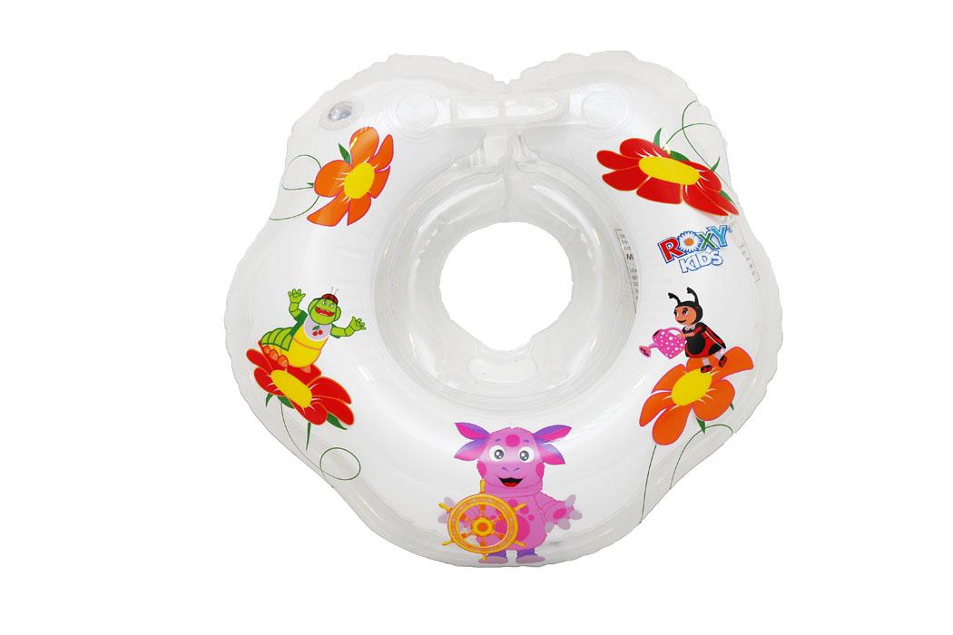 ROXY-KIDS Круг на шею для купания малышей Лунтик, от 2 летLR002Плавательный круг Лунтик сделан специально для малышей постарше, в возрасте от 2 до 7 лет, весом до 25 кг, которые смогут плавать самостоятельно, без поддержки взрослых. Увеличен внутренний диаметр круга. Круг совершенно безопасный, великолепно стимулирует природный плавательный рефлекс. Облегчает родителям процесс купания малыша: малыш плавает сам! Круг Лунтик подходит для купания детей в искусственных и природных водоемах и бассейнах на глубине не более 1 метра. Перед применением, пожалуйста, внимательно прочитайте инструкцию и меры предосторожности, указанные на упаковке. Во время купания не оставляйте малышей без присмотра.