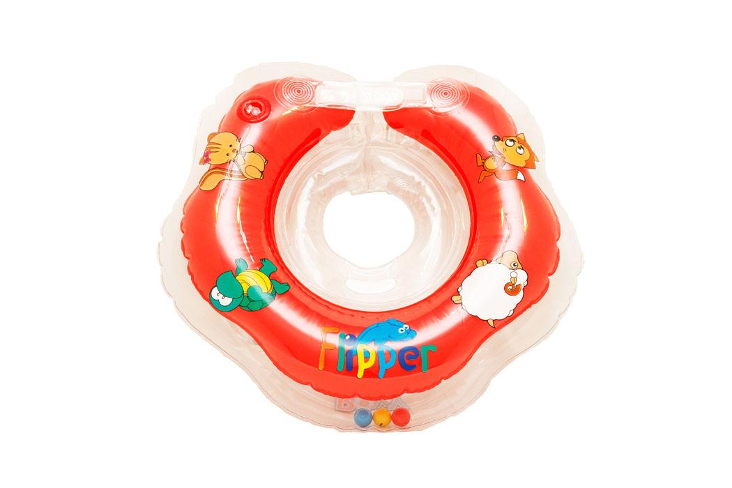 ROXY-KIDS Круг на шею для купания малышей с рождения FlipperFL001