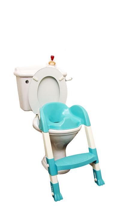 ROXY-KIDS Насадка на унитаз с ножками и ступенькойBPT-6815