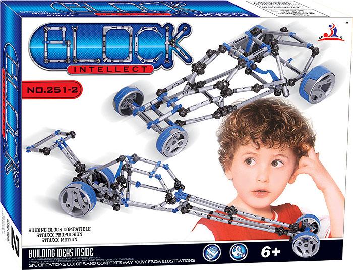 Intellect Block Конструктор 251-2251-2Конструктор Intellect Block позволит вашему ребенку весело и с пользой провести время. Набор включает в себя 168 пластиковых элементов, с помощью которых можно собрать модели машинок. Ребенок может воспользоваться примерами из буклета или проявить фантазию, создав собственный шедевр. Также в набор входит схематичная инструкция по сборке моделей, которая поможет собрать ту или иную конструкцию правильно и быстро. Конструктор Intellect Block поможет ребенку развить мелкую моторику рук, координацию движений и усидчивость. Характеристики: Размер упаковки (ДхШхВ): 38 см x 29 см x 6,5 см.