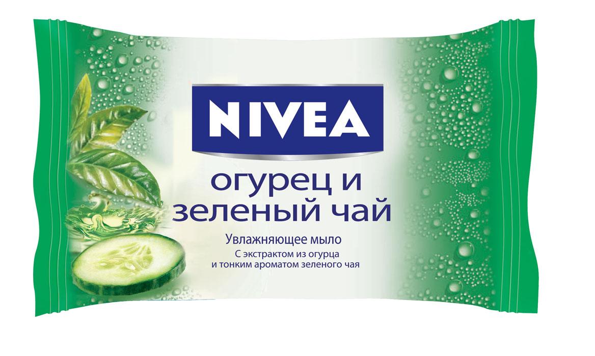Nivea Мыло Огурец и Зеленый чай, увлажняющее, 90 г10024405Мыло Огурец и зеленый чай от NIVEA с натуральным экстрактом из огурца и тонким ароматом зеленого чая нежно очищает и освежает кожу. Товар сертифицирован.