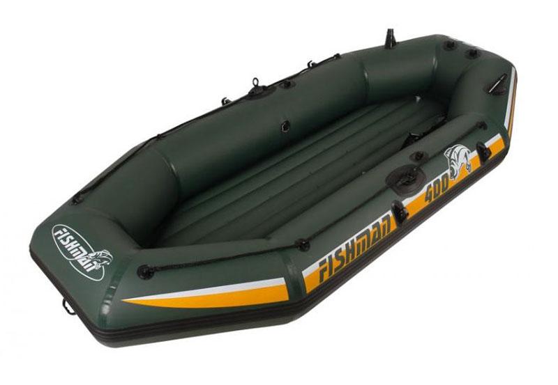 "Лодка надувная Jilong ""Fishman II 400 Boat"", 295 см х 142 см х 48 см"