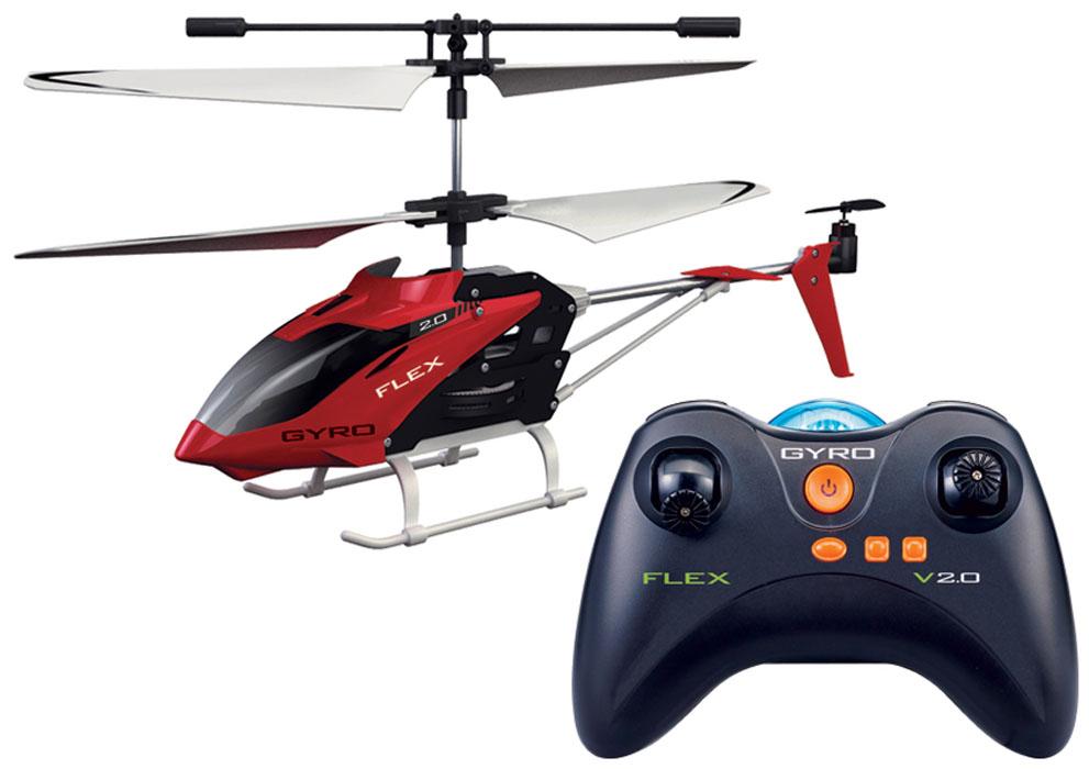 1TOY Вертолет на радиоуправлении Gyro-Fighter 4Т57269Модель построена на базе популярного GYRO-109 с применением бОльшего количества пластиковых элементов. По своим техническим параметрам GYRO-FLEX является полным аналогом 109 модели. Поскольку вертолёт предназначен для игры внутри помещений, а используемый в нём пластик достаточно пластичен, вертолёт получился достаточно прочным и защищённым от критических повреждений при падении с высоты до 10 метров. Классический 3-канальный вертолёт с ИК пультом управления. Частота 27 МГц.