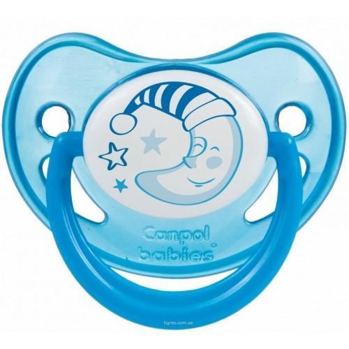 Canpol Babies Соска-пустышка от 0 до 6 месяцев цвет синий