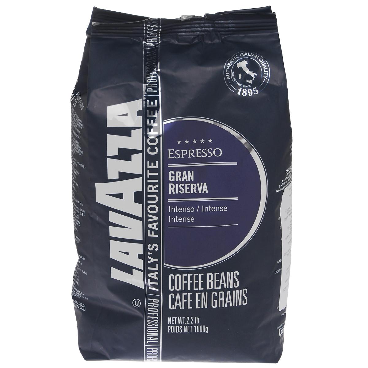 Lavazza Gran Riserva кофе в зернах, 1 кг8000070022300Lavazza Gran Riserva изготовлен из лучших кофейных зерен средней степени обжарки, поэтому поражает многогранностью вкуса. Тонкий аромат не оставит равнодушным ни одного кофейного гурмана.