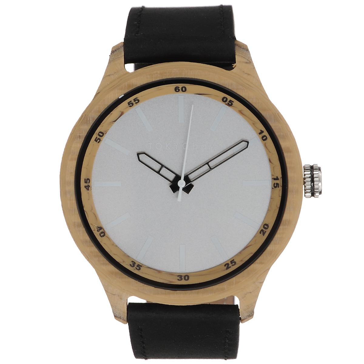 Часы женские наручные Tokyobay Specs, цвет: черный, светло-коричневый. T366-BET366-BEНаручные часы Tokyobay - это стильное дополнение к вашему неповторимому образу. Эти часы созданы для современных женщин, ценящих стиль, качество и практичность. Часы оснащены японским кварцевым механизмом Miyota. Задняя крышка изготовлена из нержавеющей стали. Корпус изготовлен из прочного дерева. Циферблат оформлен тремя рядами цифр, имеются часовая, минутная и секундная стрелки. Ремешок выполнен из кожи, застегивается на классическую застежку-пряжку. Часы Tokyobay - это практичный и модный аксессуар, который подчеркнет ваш безупречный вкус. Характеристики: Корпус: 4,3 х 3,5 х 0,9 см. Размер ремешка: 21 х 2 см. Не содержит никель. Не водостойкие.