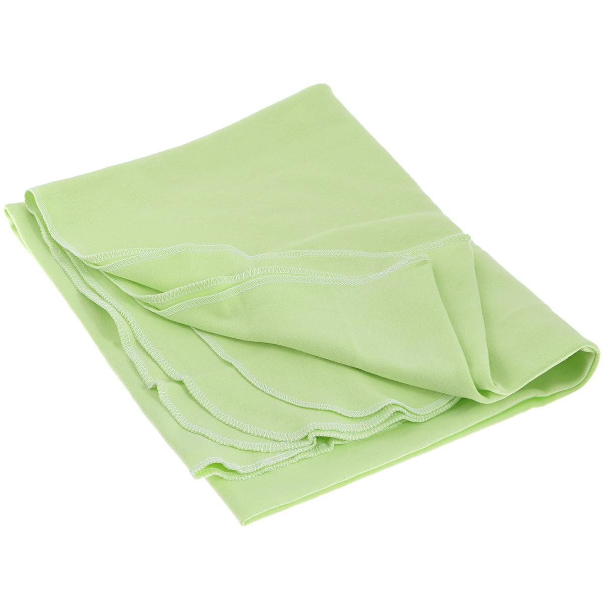 Пеленка, цвет: салатовый5421Детская трикотажная пеленка Трон-Плюс Машинки подходит для пеленания ребенка с самого рождения. Она невероятно мягкая и нежная на ощупь. Пеленка выполнена из интерлока набивного - мягкое эластичное трикотажное полотно из хлопка гладкого покроя. Края обработаны швом оверлока. Такая ткань прекрасно дышит, она гипоаллергенна, почти не мнется и не теряет формы после стирки. Мягкая ткань укутывает малыша с необычайной нежностью. Пеленку также можно использовать как легкое одеяло в жаркую погоду, простынку, полотенце после купания, накидку для кормления грудью или солнцезащитный козырек. Пеленка оформлена изображениями машинок. Ее размер подходит для пеленания даже крупного малыша. Рекомендована ручная стирка при температуре не более 40°C. Не отбеливать. Температура глажения не более 150°C. Сушить в подвешенном виде. Не подвергать химической чистке.
