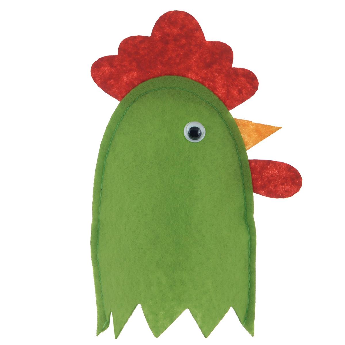 Грелка для яйца Home Queen Петух, цвет: зеленый, красный, 11 см х 11 см64520_2Грелка для яйца Home Queen Петух изготовлена из фетра. Изделие выполнено в виде забавного петушка. Мягкая и приятная на ощупь, грелка внесет частичку тепла и веселья в ваш дом, а также станет замечательным подарком для друзей и близких. Размер: 11 см х 11 см.