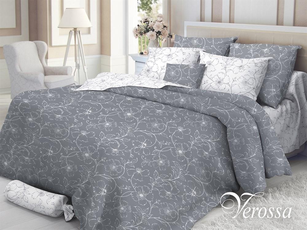 Постельное белье Verossa Tiffany, 1,5-спальное, наволочки 50х70. 177010177010Превосходное, стильное белье из 100% хлопоковой ткани - сатина, станет украшением любой спальни. Благодаря высокому номеру пряжи, атласному переплетению, а также высокой плотности ткани, сатин является невероятно мягкой и гладкой тканью с особым блеском, а также высокой прочностью. Предназначено для женщин, которые любят и ценят себя и свой комфорт. Они обладают хорошим вкусом и при этом практичны. Их ценности – дом, семья, традиции домашнего уюта. Высокие стандарты качества пошива продукта: - пошив на автоматической линии – гарантия соблюдения точности размеров изделий. Высокое качество тканей – гарантирует потребителю легкость и долговечность эксплуатации белья: ткани не линяют, не садятся, не пилингуются. Качественная упаковка продукта – привлекательный внешний вид, возможность использовать продукт как подарок.