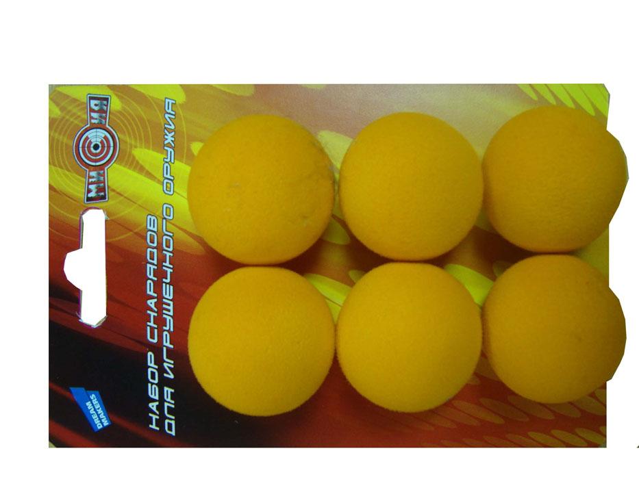 Dream Makers Набор снарядов для игрушечного оружия 6 шт ( 0007-9 )