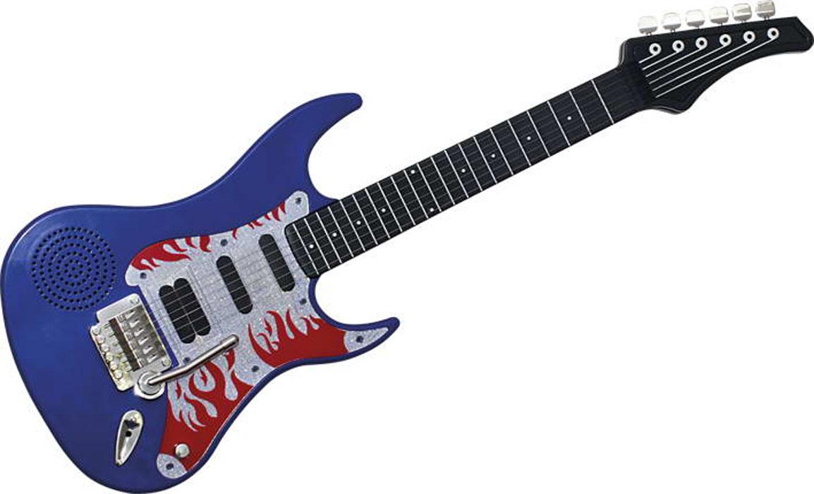 Genio Kids Гитара цвет синийPG89_синийМузыкальная гитара Genio Kids непременно понравится вашему ребенку и не позволит ему скучать. Она выполнена из прочного яркого пластика и оснащена световыми и звуковыми эффектами. Особенности гитары: 6 металлических струн; подсветка в такт музыке; разъем 3,5 мм для аксессуаров; кнопка старт для начала проигрывания мелодии; при касании струн в такт основному ритму проигрываются различные звуки. Игрушка снабжена текстильным ремнем для более удобной игры; встроенный ремешок для переноски на плече. Гитара Genio Kids поможет ребенку развить звуковое восприятие, музыкальный слух, мелкую моторику рук и координацию движений. С такой игрушкой ваш ребенок порадует вас замечательным концертом! Рекомендуется докупить 3 батарейки напряжением 1,5V типа АА (товар комплектуется демонстрационными).