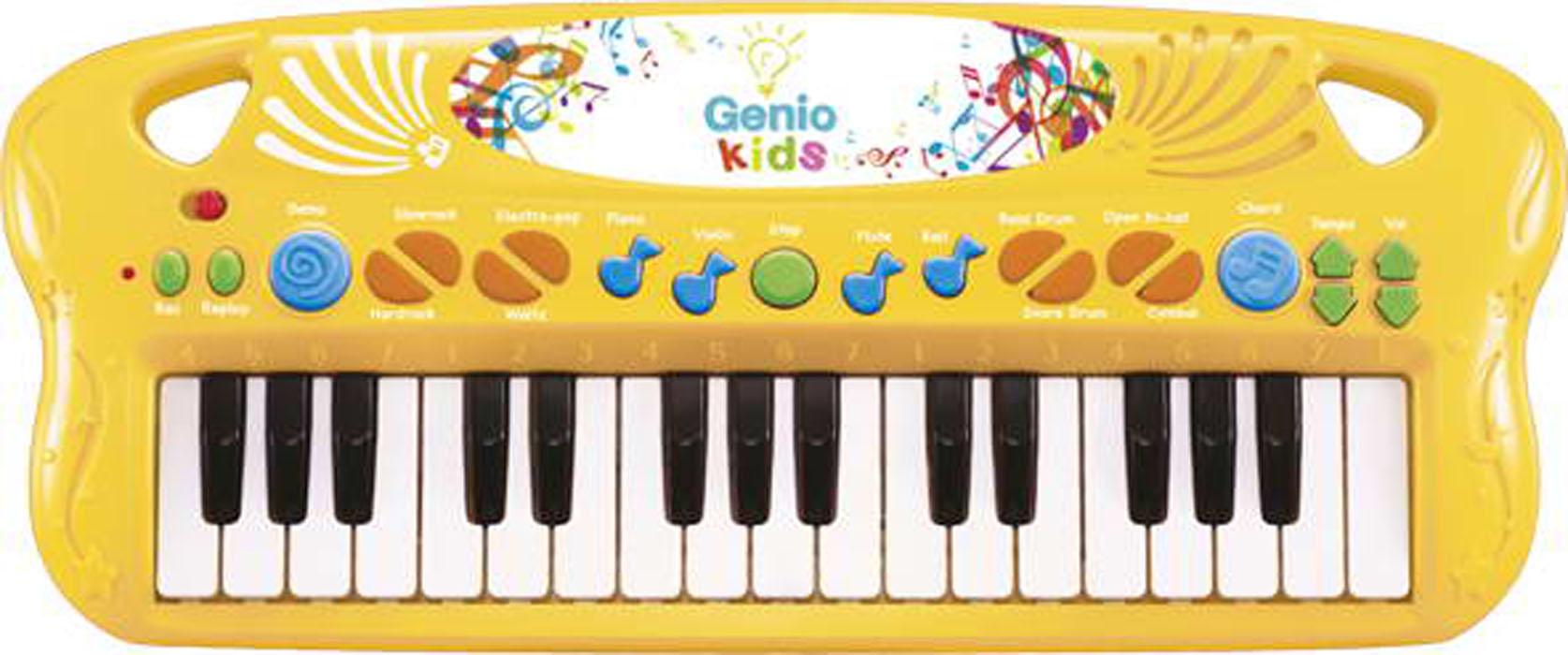 СинтезаторPK25;PK25kСочиняй и слушай свою собственную мелодию. Игрушка работает от 3 батареек 1,5V AA (в комплекте демонстрационные).