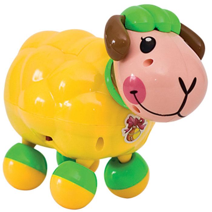 Электронная развивающая игрушка Веселая овечка, цвет: желтый231овечка желтаяТакие игрушки не только развлекают малышей, но и развивают двигательную активность. За такой игрушкой дети с удовольствием будут двигаться, становясь более ловкими, сильными и быстрыми. А веселая мелодия будет служить отличным аккомпанементом в их подвижных играх. Порадуйте ребенка таким замечательным подарком! Игрушка работает от 2 батареек типа АА (товар комплектуется демонстрационными).