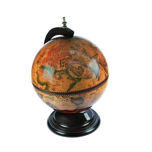 Глобус-бар настольный, диаметр 33 см глобус политическая карта на английском языке диаметр 33 см