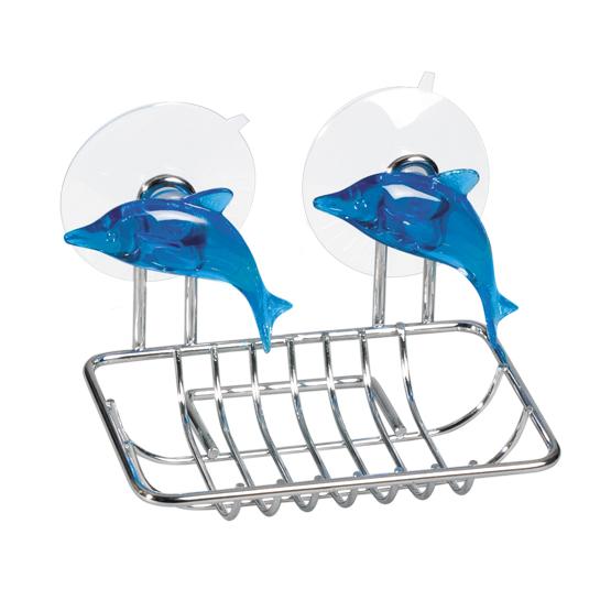 Мыльница Tatkraft Dolphin Blue, 12,5 х 9 х 10 см11175