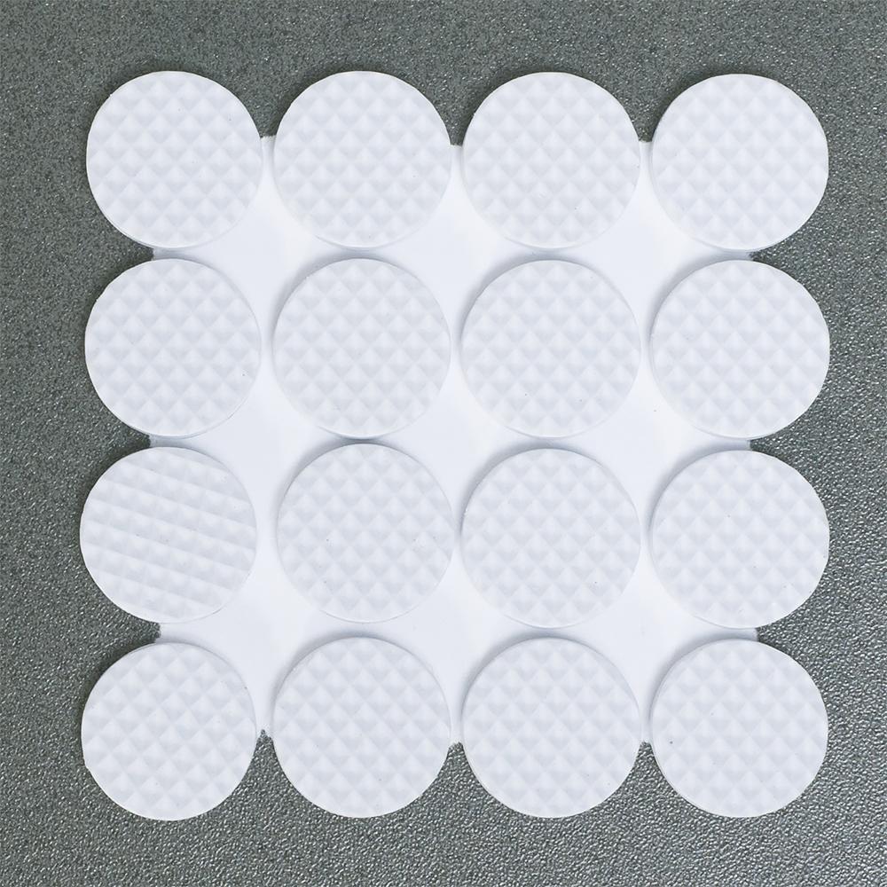 Защитные самоклеящиеся наклейки для мебели Tatkraft Rolf, цвет: белый, 32 шт11830Наклейки предназначены для защиты поверхности от царапин. Приклеиваются к обратной стороне предмета. В комплекте 32 наклейки. Диаметр: 2 см. Материал: пенорезина.