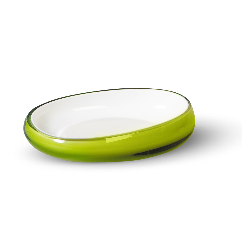 Мыльница Immanuel Repose Green, салатовый. 1229512295Овальная мыльница Immanuel Repose Green, выполненная из акрила салатового цвета, прекрасно подойдет для ванной. Такая мыльница станет стильным аксессуаром, который украсит интерьер вашей ванной комнаты. Характеристики: Материал: акрил. Размер мыльницы: 9,5 см х 14 см х 3 см. Артикул: 12295.