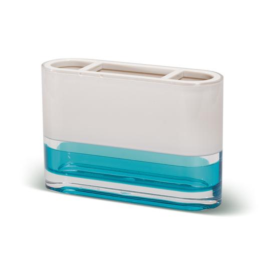 Стакан для зубных щеток Tatkraft Topaz Blue12745