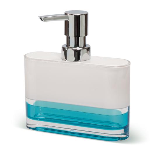 Дозатор для жидкого мыла Tatkraft Topaz Blue12752