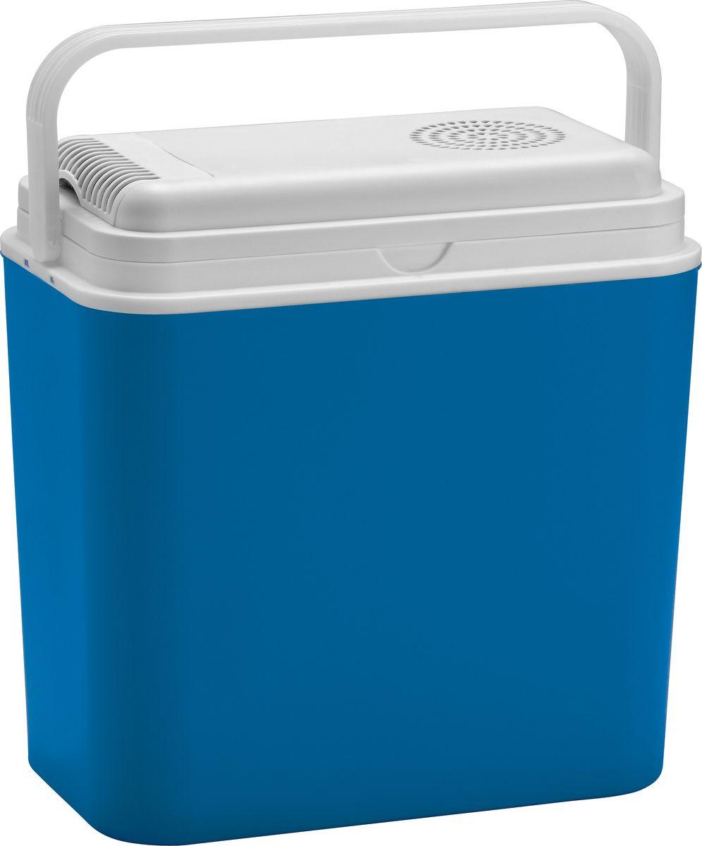 """Автохолодильник электрический """"Atlantic"""", для охлаждения и разогрева, цвет: синий, 24 л, 230 В/12 В"""