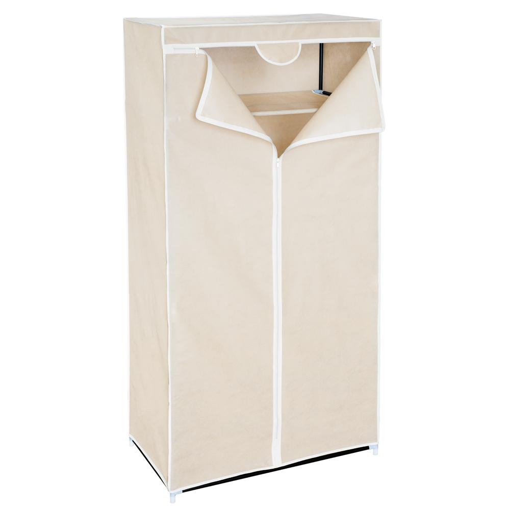 Мобильный шкаф для одежды Art Moon Ontario, цвет: мокко, 75 см х 46 см х 160 см699164Мобильный шкаф для одежды Art Moon Ontario, предназначенный для хранения одежды и других вещей, это отличное решение проблемы, когда наблюдается явный дефицит места или есть временная необходимость. Складной тканевый шкаф – это мобильная конструкция, состоящая из сборного металлического каркаса на который натянут чехол из нетканого полотна. Корпус шкафа сделан из легкой, но прочной стали, а обивка из полиэстера, который можно легко стирать в стиральной машинке. Каждая перекладина шкафа может выдержать вес до 15-20 кг (без деформации конструкции). Лучшее сырье и строгий контроль качества на производстве - вот то, благодаря чему шкафы компании Art Moon служат долгие годы своим обладателям!